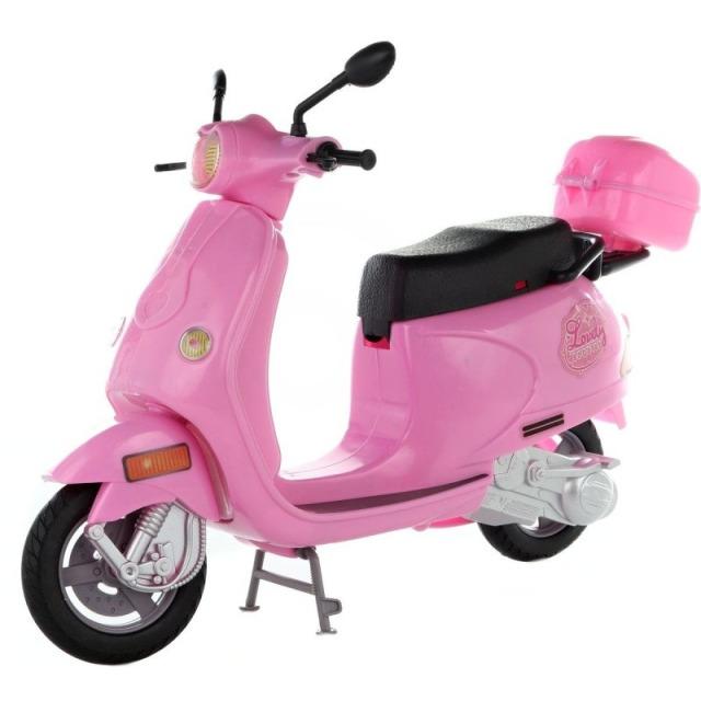 Obrázek produktu Lovely skútr růžový pro panenky 30cm