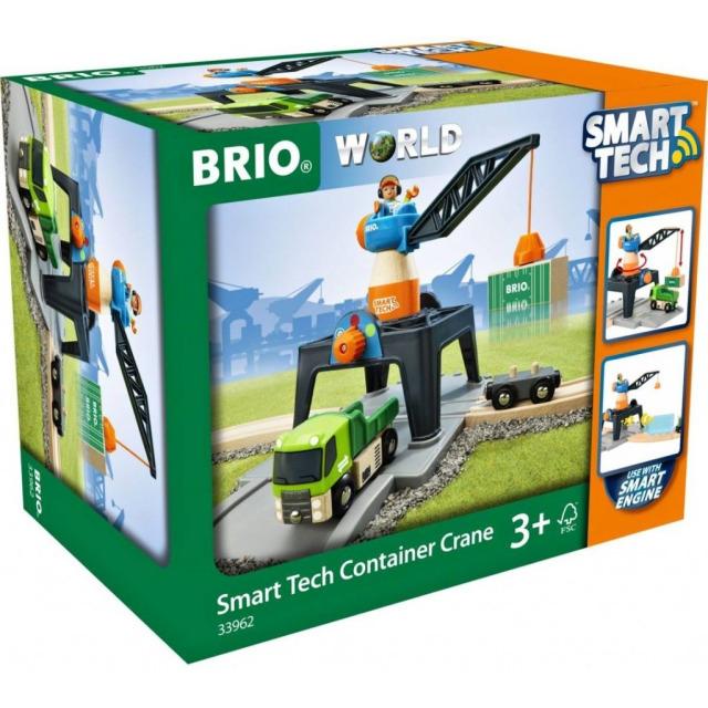 Obrázek produktu BRIO 33962 Smart Tech Jeřáb