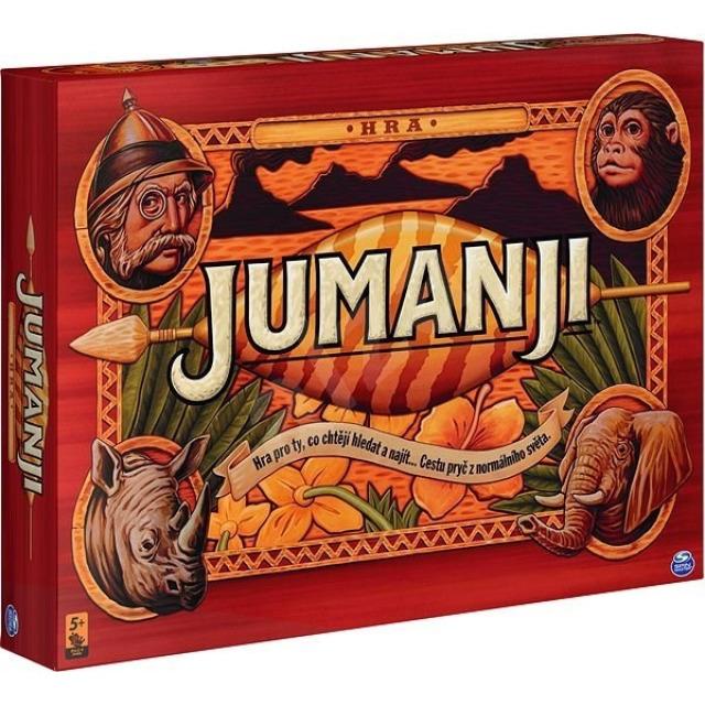 Obrázek produktu Jumanji společenská hra, Spin Master