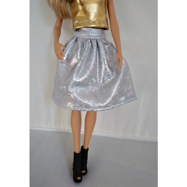 Obrázek produktu LOVEDOLLS Stříbrná sukně