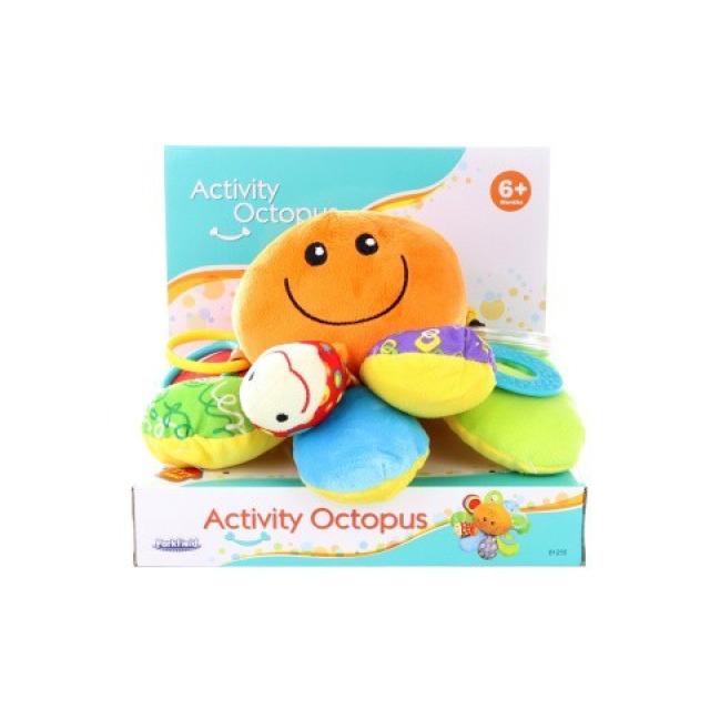 Obrázek produktu Parkfield Plyšová chobotnice s chrastítky, Activity Octopus