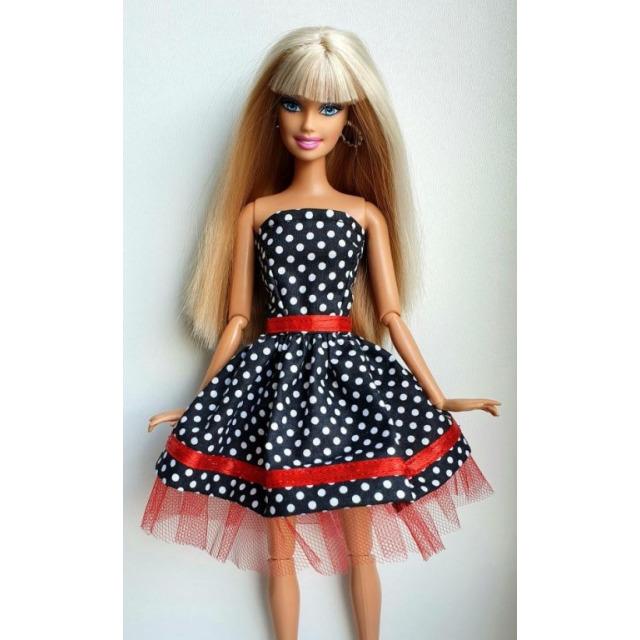 Obrázek produktu LOVEDOLLS Černé puntíkované šaty s tylem