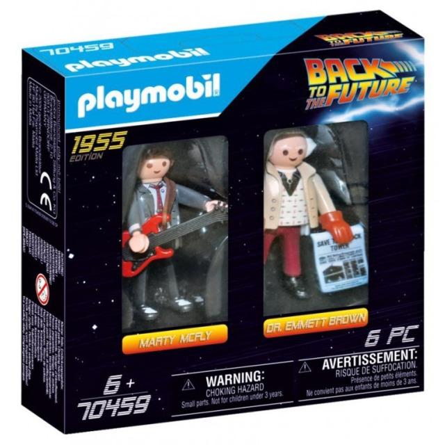 Obrázek produktu Playmobil 70459 Back to the Future Marty Mcfly a Dr. Emmet Brown