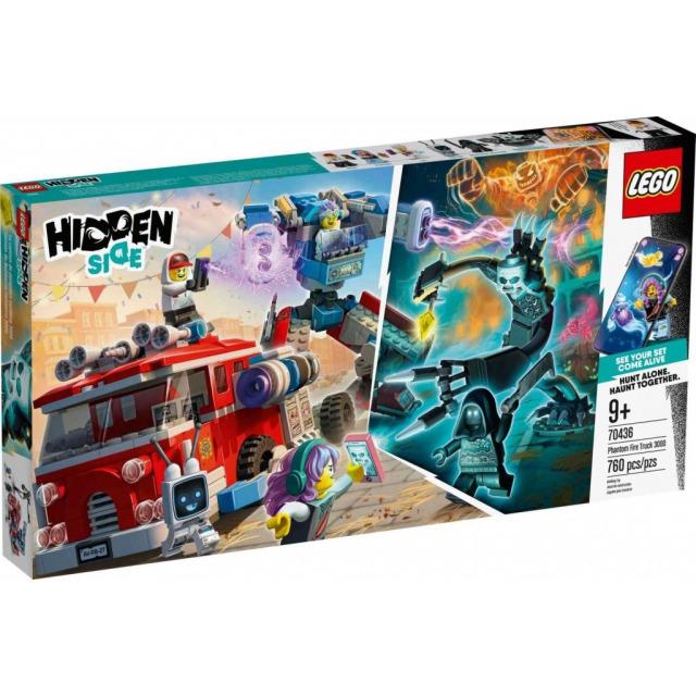 Obrázek produktu LEGO Hidden Side 70436 Přízračný hasičský vůz 3000