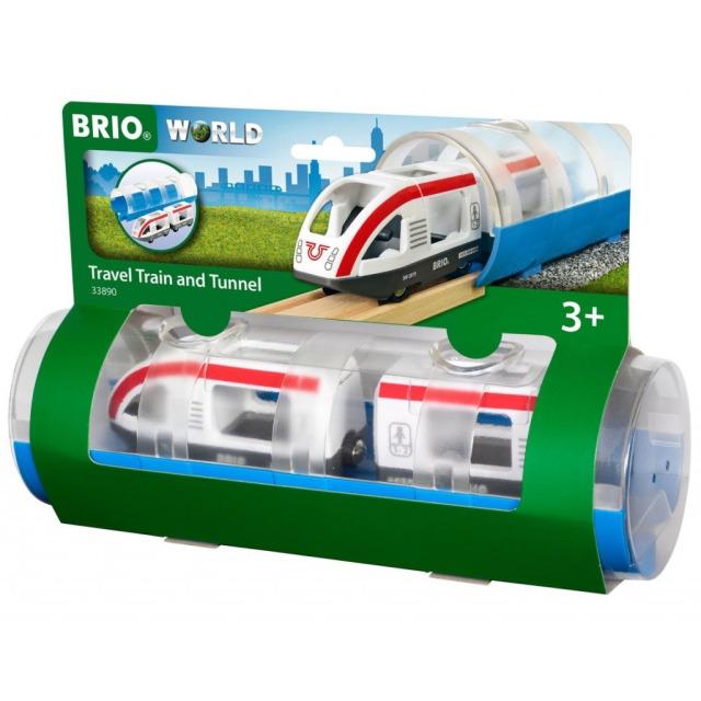 Obrázek produktu BRIO 33890 Tunel a osobní vlak