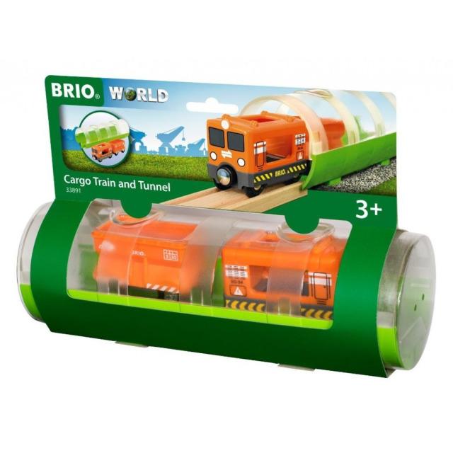Obrázek produktu BRIO 33891 Tunel a nákladní vlak