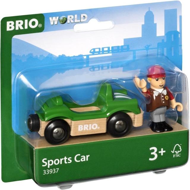 Obrázek produktu Brio 33937 Sportovní auto s řidičem