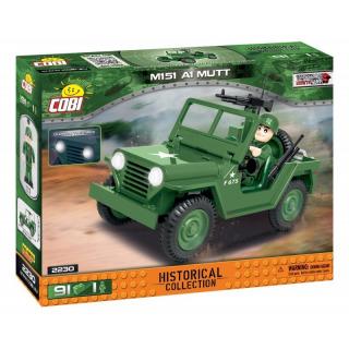 Obrázek 1 produktu Cobi 2230 Vietnam War Terénní automobil 151 A1 MUTT