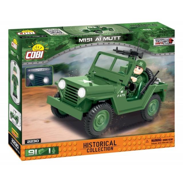 Obrázek produktu Cobi 2230 Vietnam War Terénní automobil 151 A1 MUTT