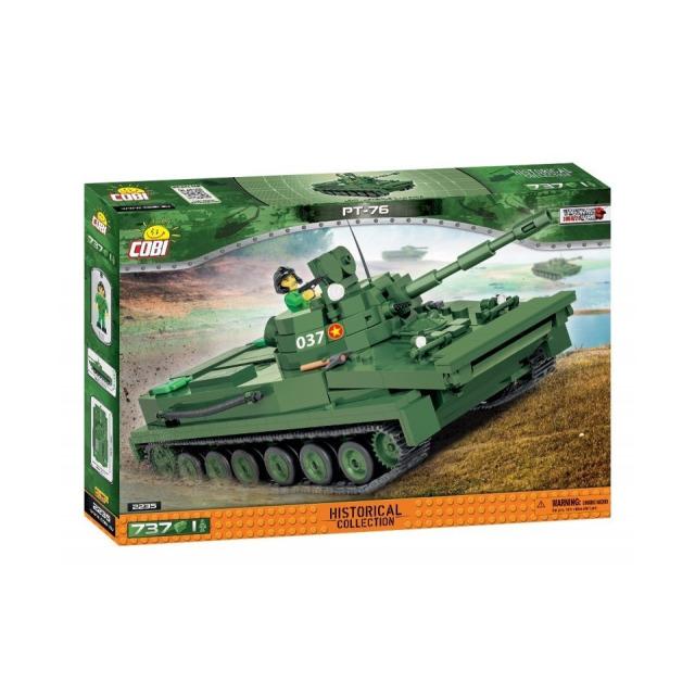 Obrázek produktu Cobi 2235 Vietnam War Sovětský obojživelný tank PT-76