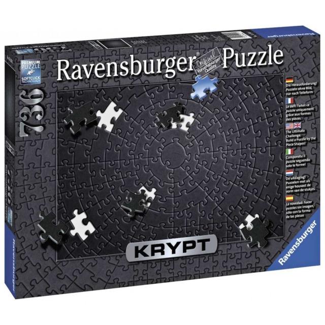 Obrázek produktu Ravensburger 15260 Puzzle Krypt Black, 736 dílků