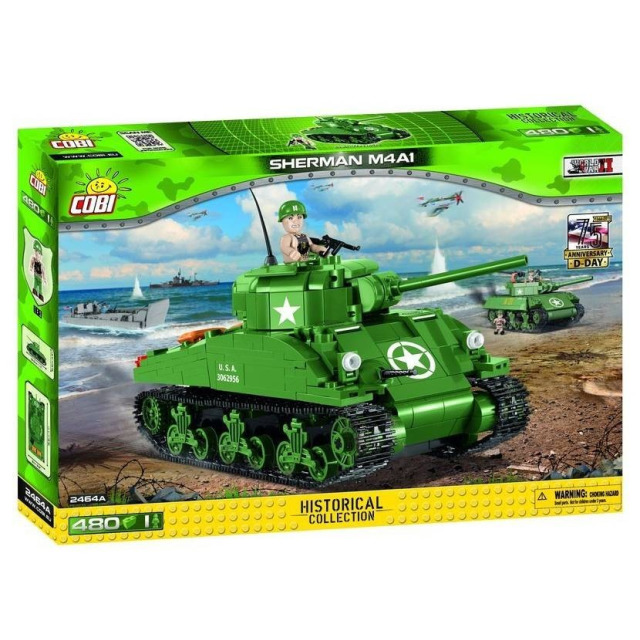 Obrázek produktu Cobi 2464 SMALL ARMY – II WW M4A1 Sherman