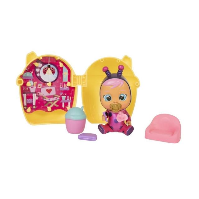 Obrázek produktu Panenka Cry Babies magické slzy žlutý domeček