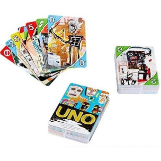 Obrázek 1 produktu Karty UNO Jean Michel Basquiat, Mattel GDG38