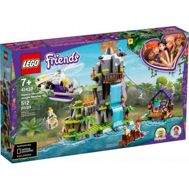 Obrázek produktu LEGO Friends 41432 Záchrana lamy na horách v džungli