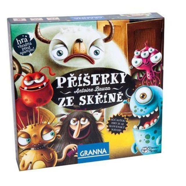 Obrázek produktu Granna Příšerky ze skříně, společenská hra