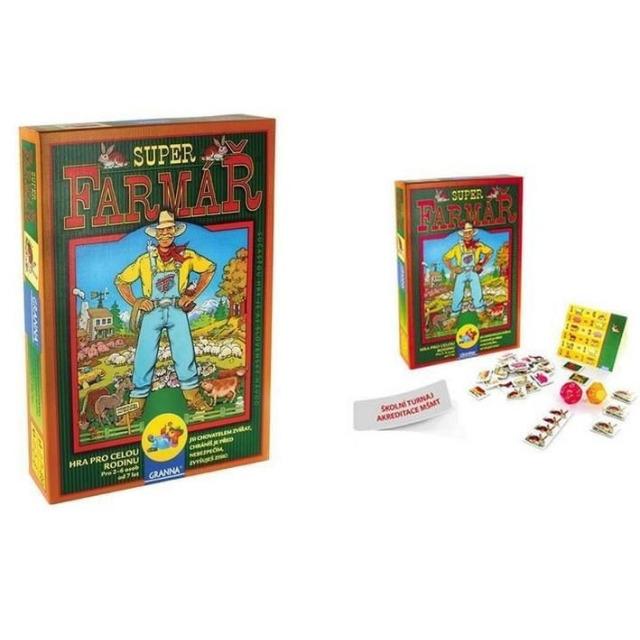 Obrázek produktu Granna SuperFarmář, společenská hra