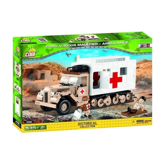 Obrázek produktu COBI 2518 WW II Kolopásové nákladní auto Ford V3000S Maultier Ambulance
