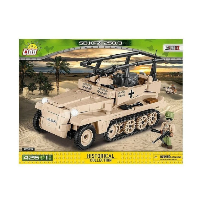 Obrázek produktu Cobi 2526 SMALL ARMY – Sd.Kfz 250/3 (DAK)