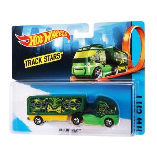 Obrázek 1 produktu Hot Wheels Tahač Haulin´Heat, Mattel BFM72