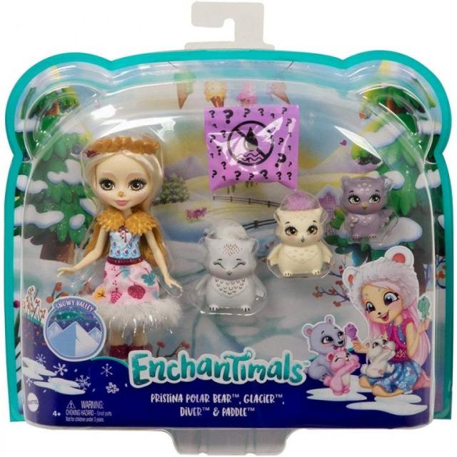 Obrázek produktu ENCHANTIMALS Rodinka Odele se sovičkama, Mattel GJX46