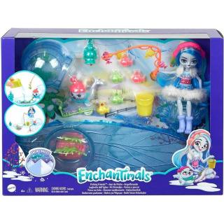 Obrázek 1 produktu ENCHANTIMALS Zimní rybolov, Mattel GJX48