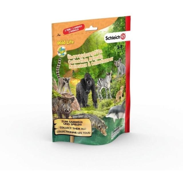 Obrázek produktu Schleich 87862 Sáček s překvapením - africká zvířátka L, série 4