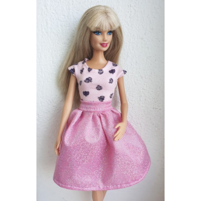 Obrázek produktu LOVEDOLLS Glitrová sukně růžová