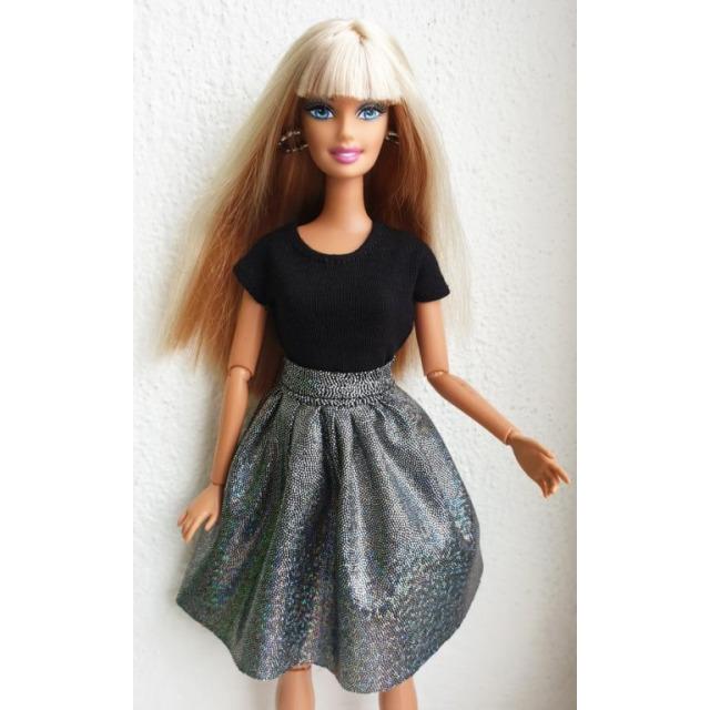 Obrázek produktu LOVEDOLLS Glitrová sukně černá