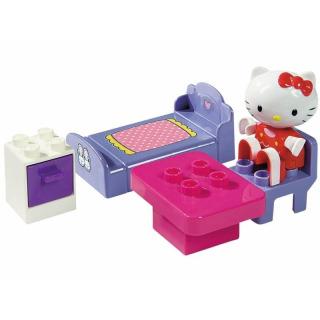 Obrázek 1 produktu PlayBIG Bloxx Hello Kitty ložnice