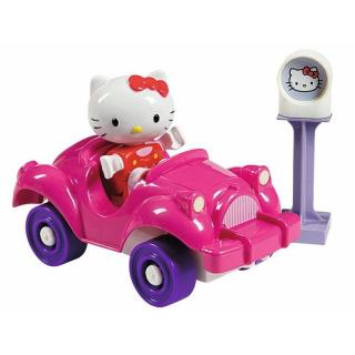 Obrázek 1 produktu PlayBIG Bloxx Hello Kitty v autě