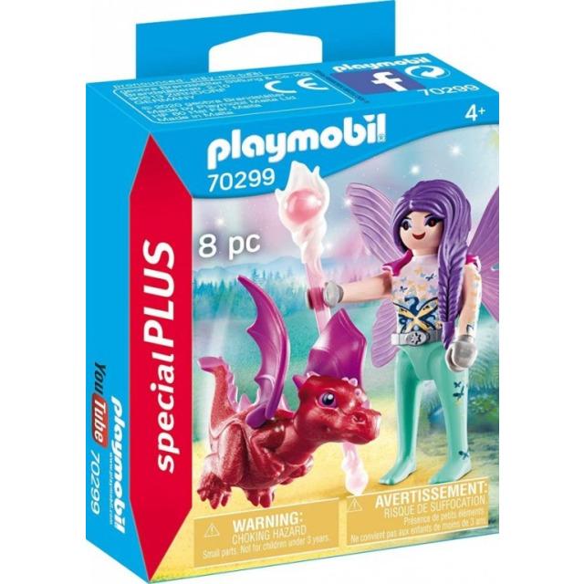 Obrázek produktu Playmobil 70299 Lesní víla s dračím mládětem
