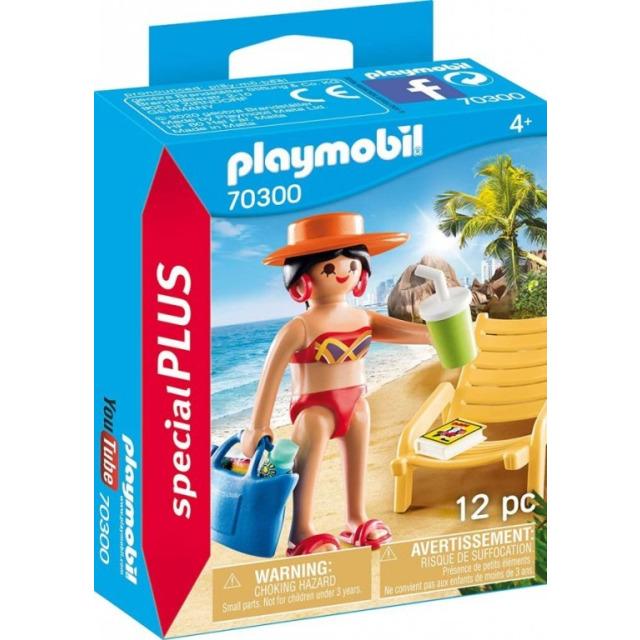 Obrázek produktu Playmobil 70300 Rekreantka s lehátkem