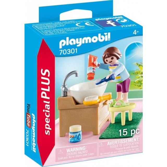 Obrázek produktu Playmobil 70301 Holčička při čištění zoubků