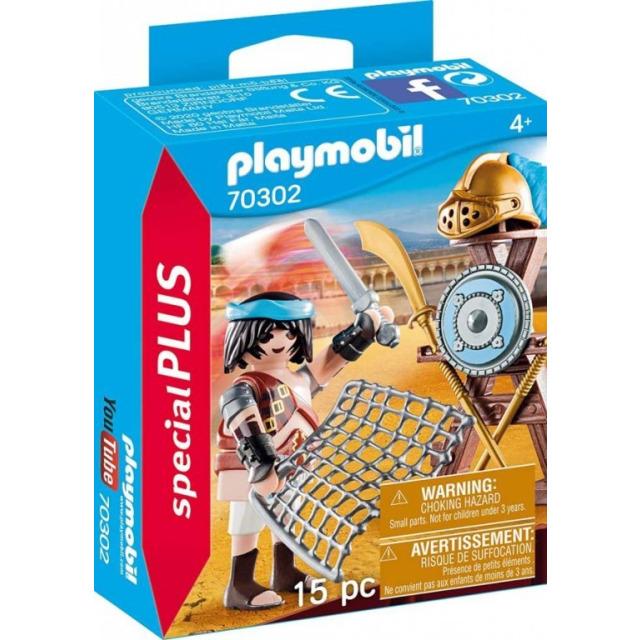 Obrázek produktu Playmobil 70302 Gladiátor se stojanem na zbraně