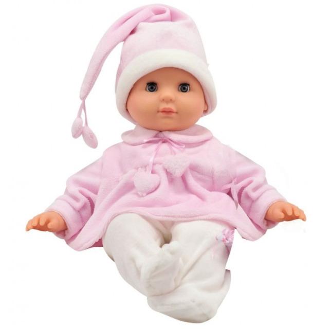 Obrázek produktu Panenka Bambolina miminko v růžovém pyžámku 30cm