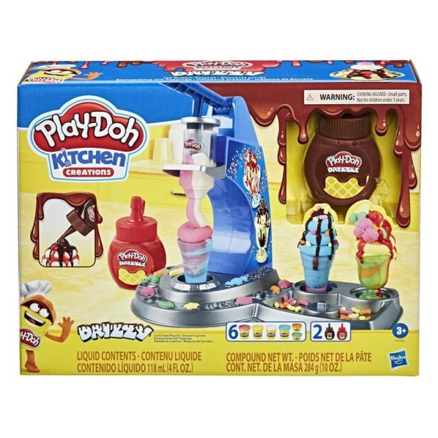 Obrázek produktu Play Doh Zmrzlinová sada s polevou, Hasbro E6688