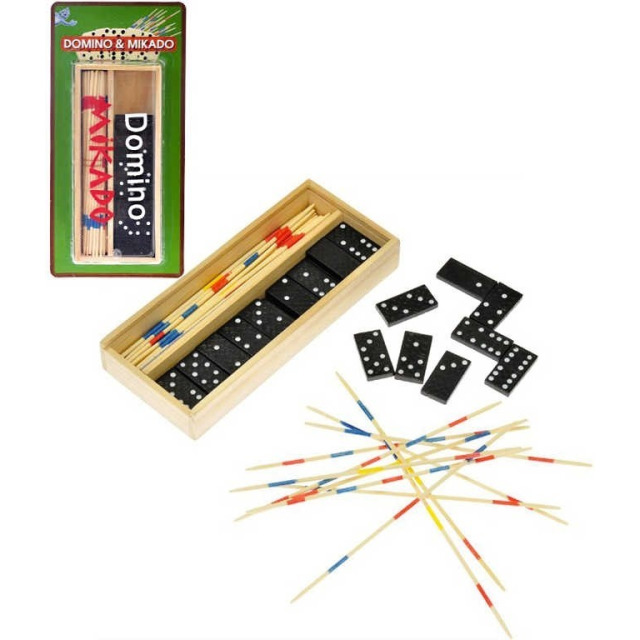 Obrázek produktu Domino 28ks + mikado