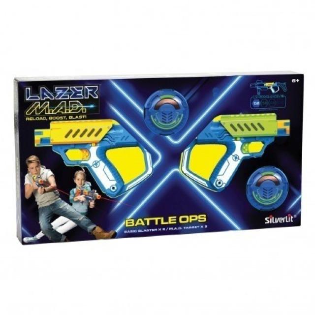 Obrázek produktu Silverit Sada dvou pistolí Laser M.A.D. Battle Ops