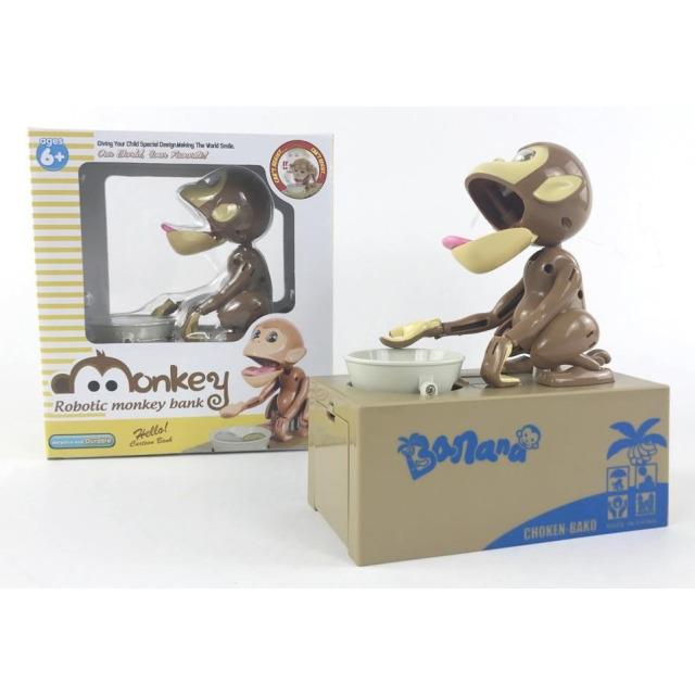 Obrázek produktu Pokladnička opice co hltá penízky