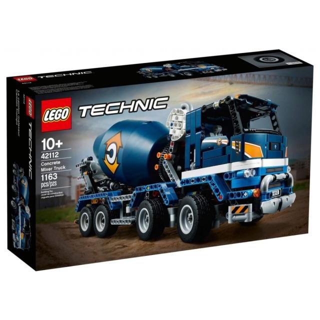Obrázek produktu LEGO TECHNIC 42112 Náklaďák s míchačkou na beton