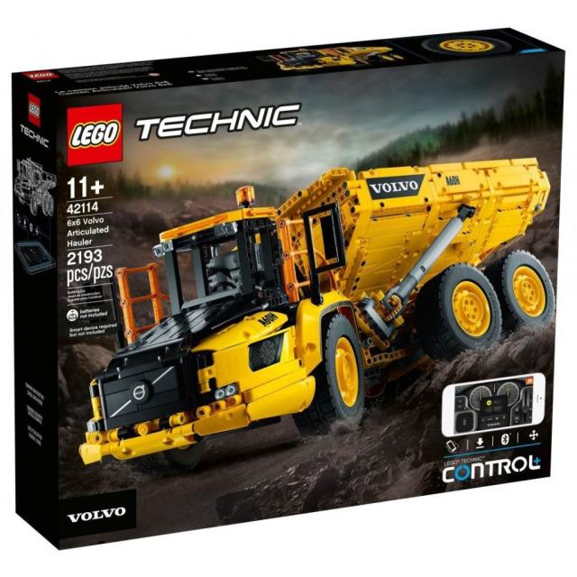 Obrázek produktu LEGO TECHNIC 42114 Kloubový dampr Volvo 6x6