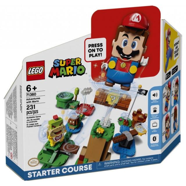 Obrázek produktu LEGO SUPER MARIO 71360 Dobrodružství s Mariem – startovací set