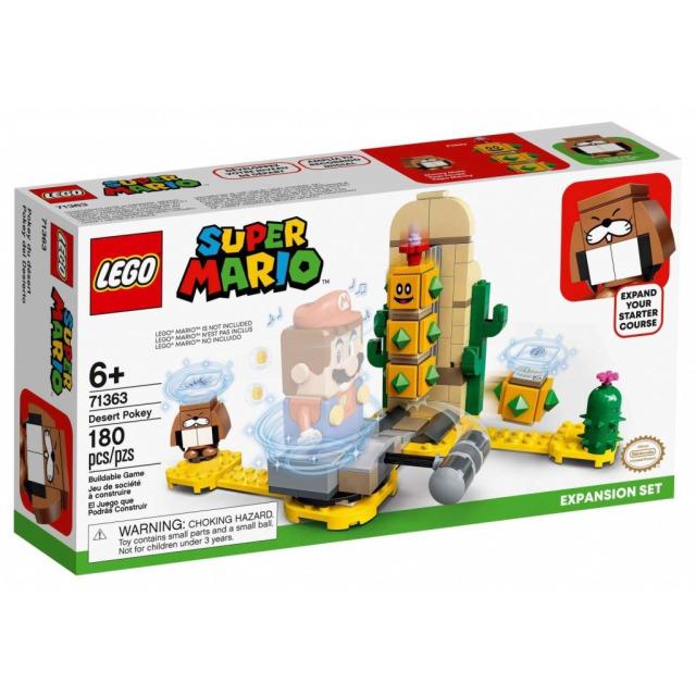 Obrázek produktu LEGO SUPER MARIO 71363 Pouštní Pokey – rozšiřující set