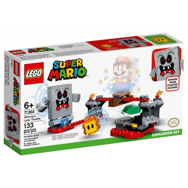 Obrázek produktu LEGO SUPER MARIO 71364 Potíže v pevnosti Whompů – rozšiřující set