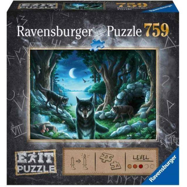 Obrázek produktu Ravensburger 15028 Exit Puzzle: Vlk 759 dílků