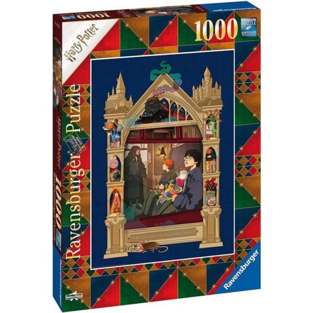 Obrázek produktu Ravensburger 16515 Puzzle Harry Potter Hogwarts 1000 dílků