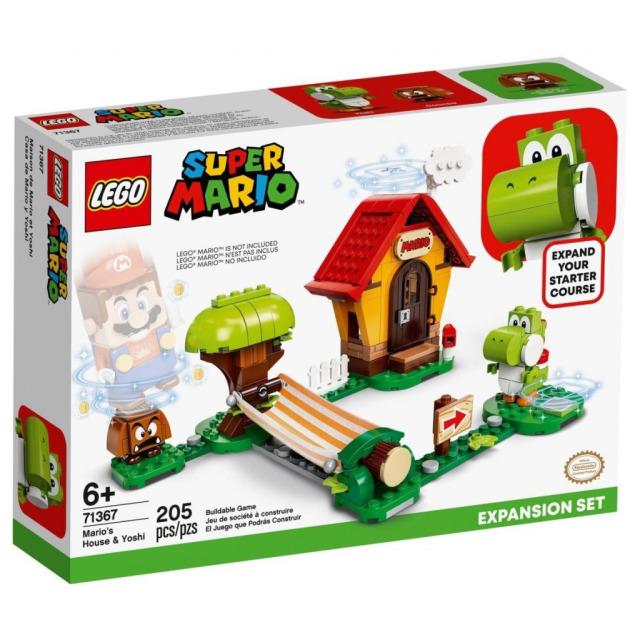 Obrázek produktu LEGO SUPER MARIO 71367 Mariův dům a Yoshi – rozšiřující set