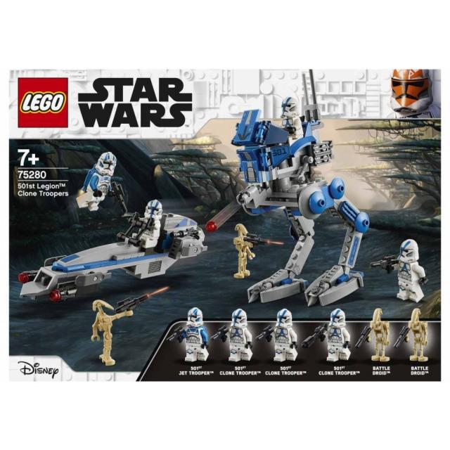 Obrázek produktu LEGO STAR WARS 75280 Klonoví vojáci z 501. legie