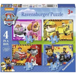 Obrázek 1 produktu Ravensburger 07033 Puzzle Tlapková Patrola 4 in a box